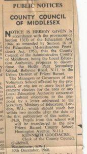 1960 Change of use