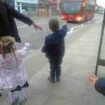 Stopping the bus